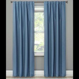 NWOT-Threshold 99.9% Blackout Curtains 2 panels